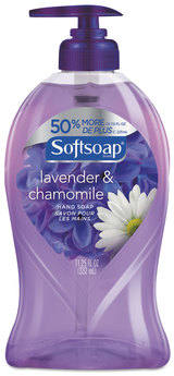 Liquid Hand Soap Pumps, Lavender & Chamomile, 11 1/4 oz Pump Bottle, 6/Case