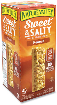 Nature Valley® Granola Bars, Sweet and Salty Peanut, 1.2 oz Pouch, 48/Box, Free Delivery in 1-4 Business Days
