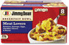 A Picture of product GRR-90300029 Jimmy Dean® Breakfast Bowl Meat Lovers, 56 oz Box, 8 Bowls/Box, Free Delivery in 1-4 Business Days