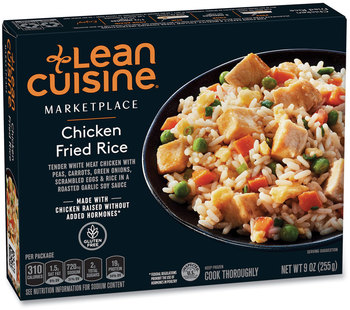 Lean Cuisine® Marketplace Chicken Fried Rice, 9 oz Box, 3 Boxes/Pack, Free Delivery in 1-4 Business Days