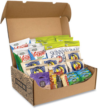 Picture of item GRR-700S0004 a Snack Box Pros Gluten Free Snack Box, 32 Assorted Snacks, Free Delivery in 1-4 Business Days