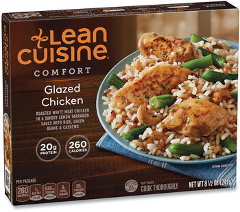 Lean Cuisine® Comfort Glazed Chicken, 8.5 oz Box, 3 Boxes/Pack, Free Delivery in 1-4 Business Days