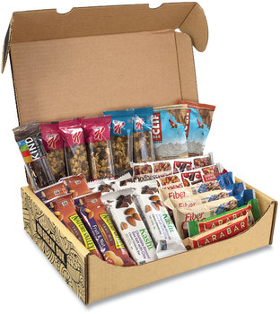 Snack Box Pros Healthy Snack Bar Box, 23 Assorted Snacks, Free Delivery in 1-4 Business Days
