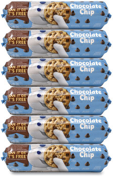 Picture of item GRR-90200455 a Pillsbury Create 'N Bake Chocolate Chip Cookies, 16.5 oz Tube, 6 Tubes/Pack, Free Delivery in 1-4 Business Days