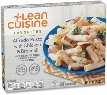 Lean Cuisine® Favorites Alfredo Pasta with Chicken & Broccoli, 10 oz Box, 3 Boxes/Pack, Free Delivery in 1-4 Business Days