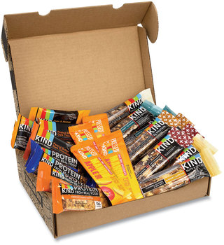 KIND Favorites Snack Box, Assorted Variety of KIND Bars, 2.5 lb Box, 22 Bars/Box, Free Delivery in 1-4 Business Days