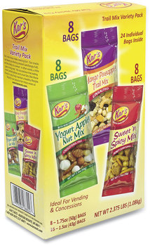 Picture of item GRR-28800012 a Kar's Trail Mix Variety Pack, Assorted Flavors, 24 Packets/Box, Free Delivery in 1-4 Business Days