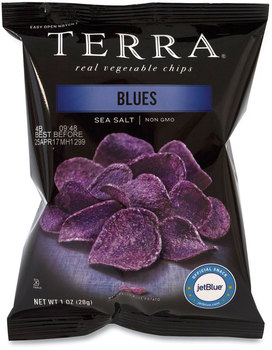 Picture of item GRR-20902474 a TERRA® Real Vegetable Chips Blue, 1 oz Bag, 24 Bags/Box, Free Delivery in 1-4 Business Days