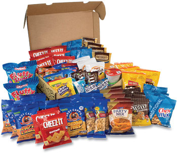 Picture of item GRR-700S0026 a Snack Box Pros Big Party Snack Box, 75 Assorted Snacks, Free Delivery in 1-4 Business Days