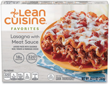 Lean Cuisine® Favorites Lasagna with Meat Sauce, 10.5 oz Box, 3 Boxes/Pack, Free Delivery in 1-4 Business Days