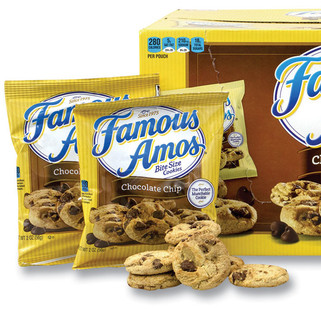 Picture of item GRR-22000424 a Kellogg's® Famous Amos® Cookies, Chocolate Chip, 2 oz Bag, 60/Carton, Free Delivery in 1-4 Business Days