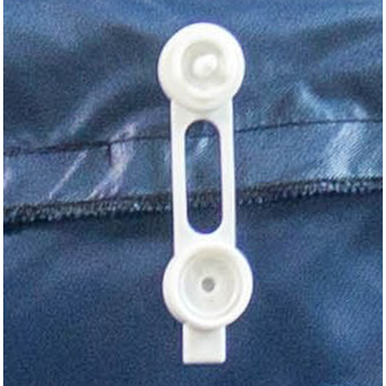 Polysnaps Bag Liner Retainers. 4/Pack.