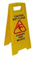 Wet Floor Sign, 10/Case