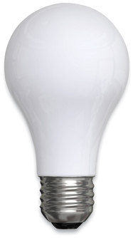 GE Classic LED Non-Dim A19 Light Bulb, Soft White, 8 W, 4/Pack